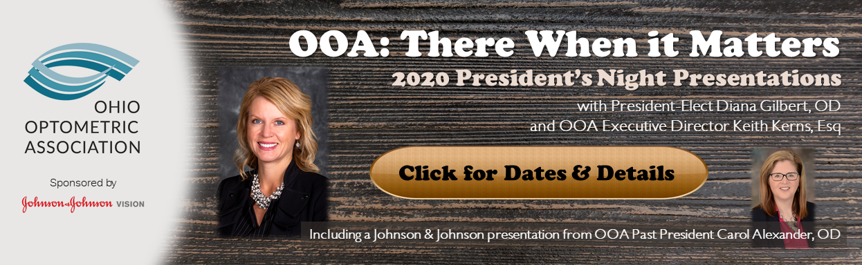 2020 President's Nights with Diana Gilbert OD